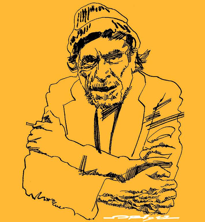 Niet schadevrij gebleven (Over 'Hollywood' van Charles Bukowski)