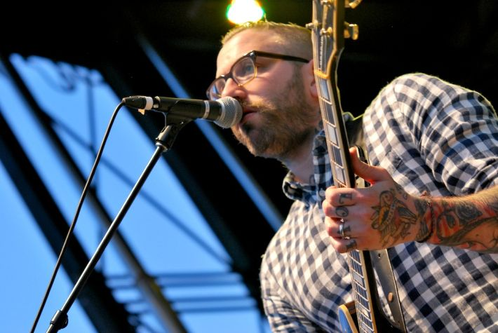 City and Colour at the 2011 Ottawa Folk Fesitval 1