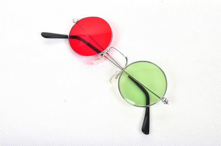 Lennonroodgroenbril