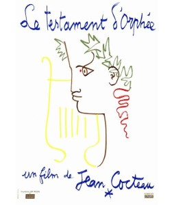jean cocteau testament orphee movie poster 2a